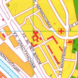 Улица абрикосовая на карте сочи