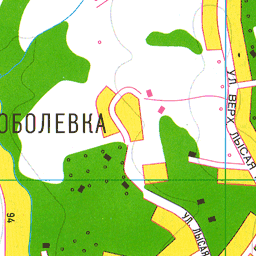 Улица верх лысая гора на карте сочи