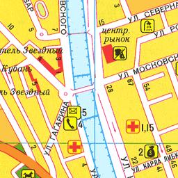 Улица роз сочи на карте
